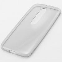 Чехол силиконовый Slim Motorola Moto G3 затемненный