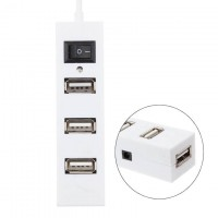 USB Hub 327 4 PORT white