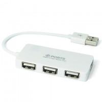 USB Hub 329 4 PORT white