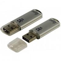 USB Флешка 32GB Smartbuy V-Cut Silver