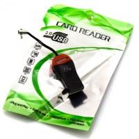 Картридер USB Card Reader MicroSD black