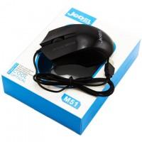 Мышь проводная Jedel M51 игровая с подсветкой черная