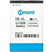 Аккумулятор NOMI NB-4L для i240 800 mAh AAAA/Original тех.пакет