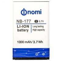 Аккумулятор NOMI NB-177 для i177 1000 mAh AAAA/Original тех.пакет