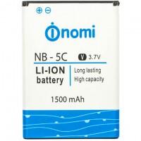 Аккумулятор NOMI NB-5C для i300 1500 mAh AAAA/Original тех.пакет