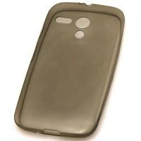 Чехол силиконовый Slim Motorola Moto G затемненный