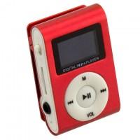 MP3 плеер iPod FM с дисплеем красный