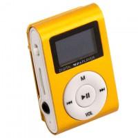 MP3 плеер iPod FM с дисплеем золотистый