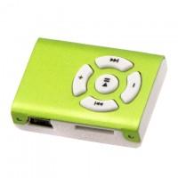 MP3 плеер пластик-металл NEW Салатовый