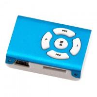 MP3 плеер пластик-металл NEW Голубой