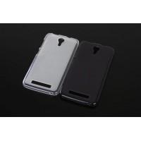 Чехол силиконовый Premium DOOGEE Y100 Pro Valencia 2 черный