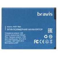 Аккумулятор Bravis A401 Neo 1650 mAh AAAA/Original тех.пакет