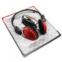 Наушники для ПК с микрофоном OK-Series OK-122 красные