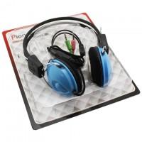 Наушники для ПК с микрофоном OK-Series OK-122 синие