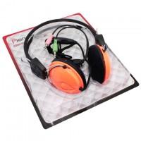 Наушники для ПК с микрофоном OK-Series OK-122 оранжевые