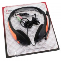Наушники для ПК с микрофоном MZ-Series OK-800 оранжевые