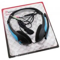 Наушники для ПК с микрофоном MZ-Series OK-800 синие