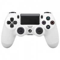 Геймпад Sony Dualshock 4 Bluetooth PS4 Original белый