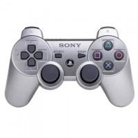 Геймпад Sony Sixaxis Dualshock 3 для PS3 Original серебристый