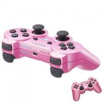 Геймпад Sony Sixaxis Dualshock 3 для PS3 Original розовый
