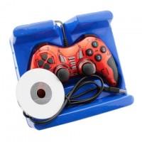 Геймпад проводной PC USB-901 красный
