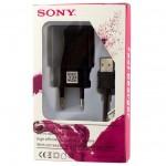 Сетевое зарядное устройство Sony Fast Charge 2in1 9V 12V 1USB 1.8A micro-USB black
