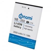 Аккумулятор NOMI NB-550 для i550 Space 3000 mAh AAAA/Original тех.пакет