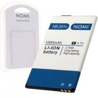 Аккумулятор NOMI NB-241+ для i241, i241+ 1000 mAh AAAA/Original пластик.блистер