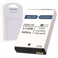 Аккумулятор NOMI NB-242 для i242 2500 mAh AAAA/Original пластик.блистер