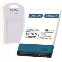 Аккумулятор NOMI NB-244 для i244 1000 mAh AAAA/Original пластик.блистер