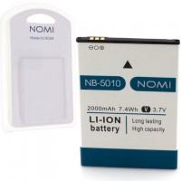 Аккумулятор NOMI NB-5010 для i5010 2000 mAh AAAA/Original пластик.блистер