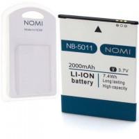 Аккумулятор NOMI NB-5011 для i5011 2000 mAh AAAA/Original пластик.блистер