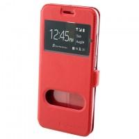Чехол-книжка Nillkin 2 окна Motorola Moto G2 красный