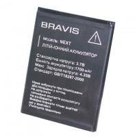 Аккумулятор Bravis Next 1700 mAh AAAA/Original тех.пакет