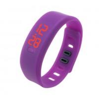 Часы наручные LED Watch Sport фиолетовые