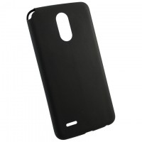Чехол накладка Cool Black LG Stylus 3 M400DY черный