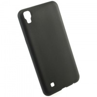 Чехол накладка Cool Black LG X Power K220 черный