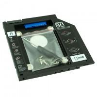 Карман для HDD 2.5″ SATA 3.0 вместо DVD привода ноутбука 9.5mm Optibay