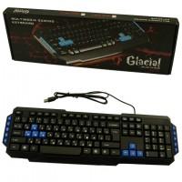 Клавиатура игровая Glacial mm007 черная