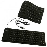 Клавиатура силиконовая Active 105C черная
