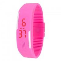 Часы наручные LED Watch A001 розовые
