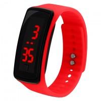 Часы наручные LED Watch A002 красные