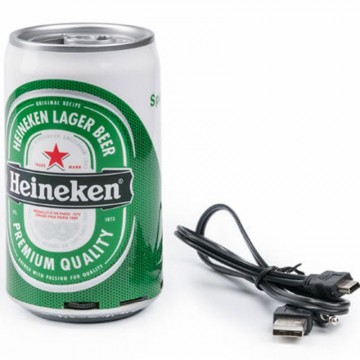 Портативная колонка банка Heineken в Одессе
