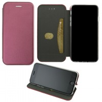 Чехол-книжка Elite Case Xiaomi Redmi Note 10, Redmi Note 10S бордовый