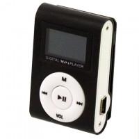 MP3 плеер TD05 с FM и дисплеем черный