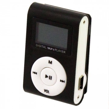 MP3 плеер TD05 с FM и дисплеем черный в Одессе
