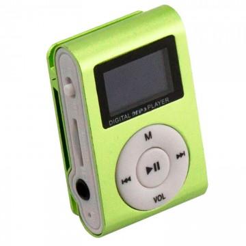 MP3 плеер TD05 с FM и дисплеем салатовый в Одессе