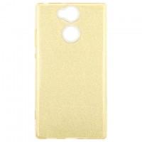 Чехол силиконовый Shine Sony Xperia XA2 H4113 золотистый