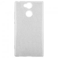 Чехол силиконовый Shine Sony Xperia XA2 H4113 серебристый