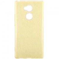 Чехол силиконовый Shine Sony Xperia XA2 Ultra H4213 золотистый